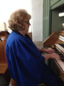 Our Organist Jan